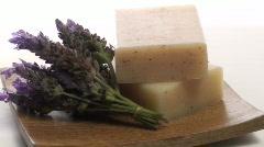 Organic herbal soap loop V5 - HD Stock Footage