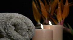 Spa Zen scene V8 - HD - stock footage