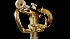 trumpet01 - stock footage