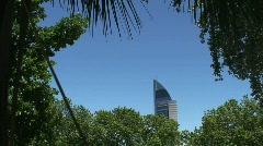 Antel Tower Montevideo, Uruguay Stock Footage