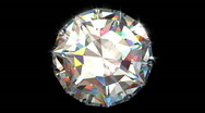 Stock Video Footage of Big Diamond Top View