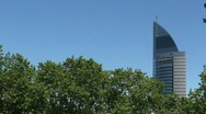 Stock Video Footage of Antel Tower Montevideo, Uruguay