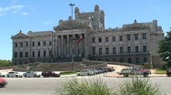 Stock Video Footage of Government building, Montevideo, Uruguay