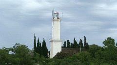 Lighthouse Colonia del Sacramento, Uruguay Stock Footage