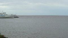 Ferry Colonia del Sacramento, Uruguay Stock Footage