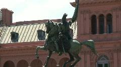 Plaza de mayo, Buenos Aires, Argentina Stock Footage