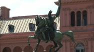 Stock Video Footage of plaza de mayo, Buenos Aires, Argentina