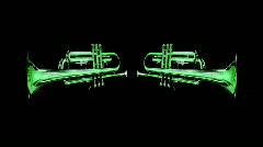 Trumpet09 Stock Footage