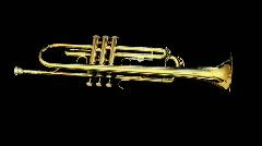 trumpet10 - stock footage