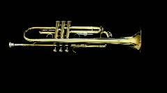 trumpet08 - stock footage