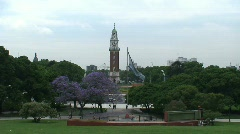 Torre Monumental Buenos Aires, Argentina Stock Footage