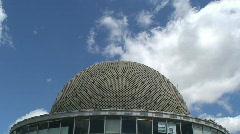 Galileo Galilei planetarium, Buenos Aires, Argentina - stock footage