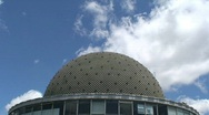 Stock Video Footage of Galileo Galilei planetarium, Buenos Aires, Argentina