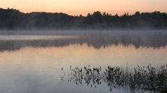 Sunrise over Arrowhead Lake Stock Footage