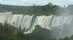 Iguazu Falls, Argentina  - stock footage