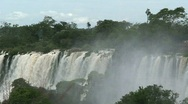 Iguazu Falls, Argentina  Stock Footage