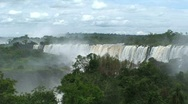 Stock Video Footage of Iguazu Falls, Argentina