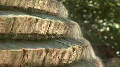 Mex mcu of waterfall 020 Stock Footage
