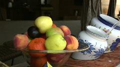 Mex fruit bowl 046 Stock Footage