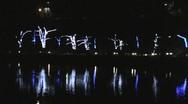 Niagara Falls Festival of Lights 2 Stock Footage