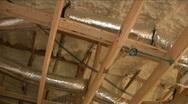 Foam ceiling Stock Footage