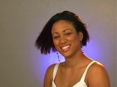Beautiful Young Woman - Headshot (2) Stock Footage