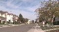 suburbia pan HD Footage