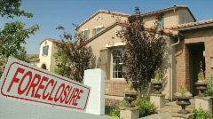 Foreclosure home HD Stock Footage