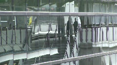 Bangkok skyrail station Stock Footage