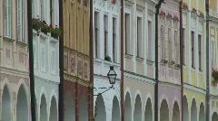 Telc - UNESCO heritage Stock Footage