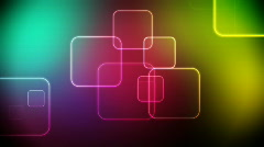 Color squares loop Stock Footage