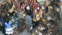 Market Bazaar, Cairo Egypt Stock Footage