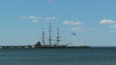 Harbor Puerto Madryn, Patagonia, Argentina Stock Footage