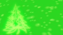 Christmas Tree Stock Footage