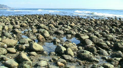 Rocky Beach  Stock Footage