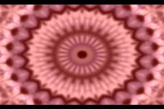 Pink glowing sun design Stock Footage