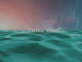 Stock Video Footage of Chill Zone message