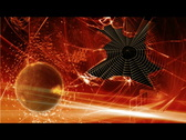 Globe abstract and space web Stock Footage