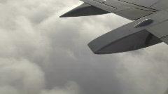 In Flight 1 of 3 Stock Footage