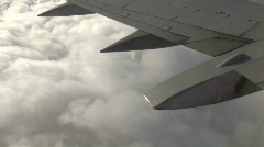 In Flight 3 of 3 Stock Footage