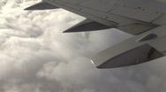 In Flight 3 of 3 Stock Footage
