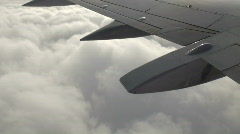 In Flight 2 of 3 Stock Footage