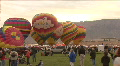 Hot Air Balloon Lifts Off At The Mass Ascension HD Footage
