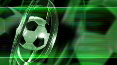 Soccer Ball Stock Footage
