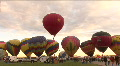 Hot Air Balloon Mass Ascension HD Footage