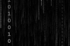 Data Stream (Vertical) - stock footage