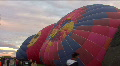 Hot Air Balloons On Ground Footage