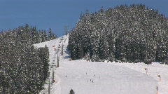 Wintersport Stock Footage