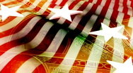Stock Video Footage of American Money Looping Background