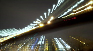 Brooklyn and Williamsburg Bridge Grunge Time Lapse Stock Footage
